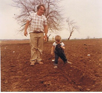 Don & Dale Planting 1979